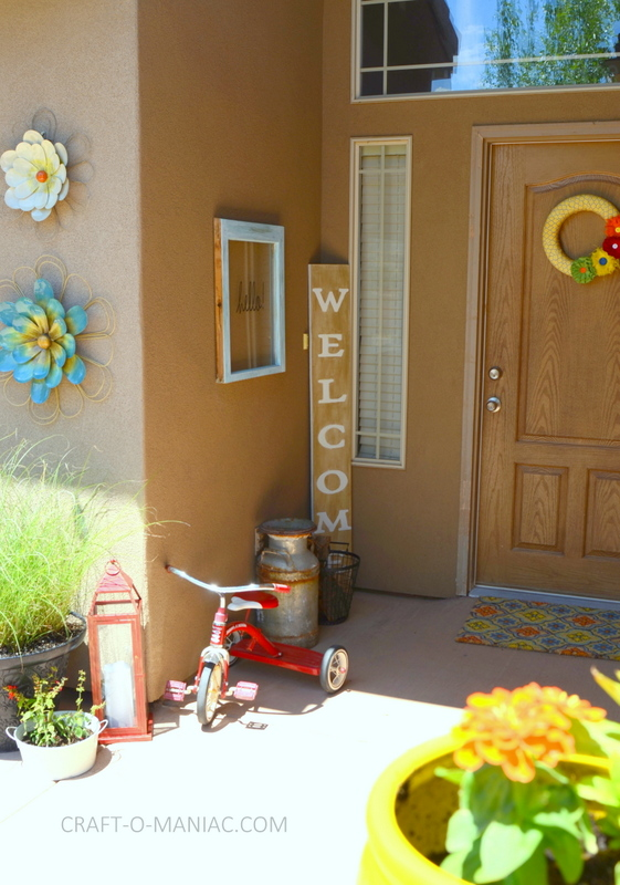 bright colorful porch decor3