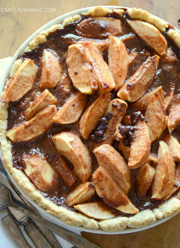 chocolate rustic apple pie