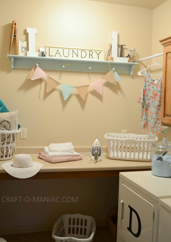 laundry room revamp 2