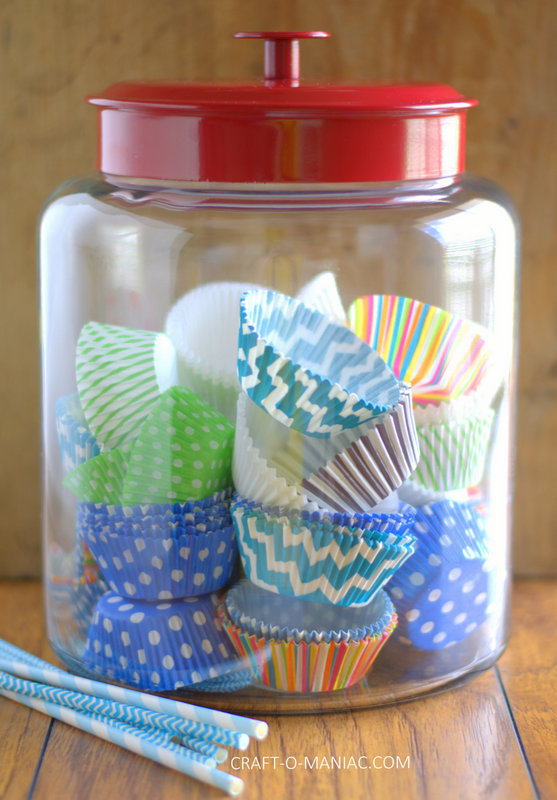 organized cup cake liners1