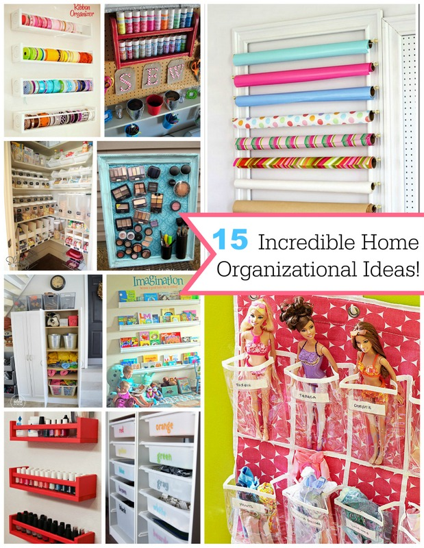 diy organizational ideas