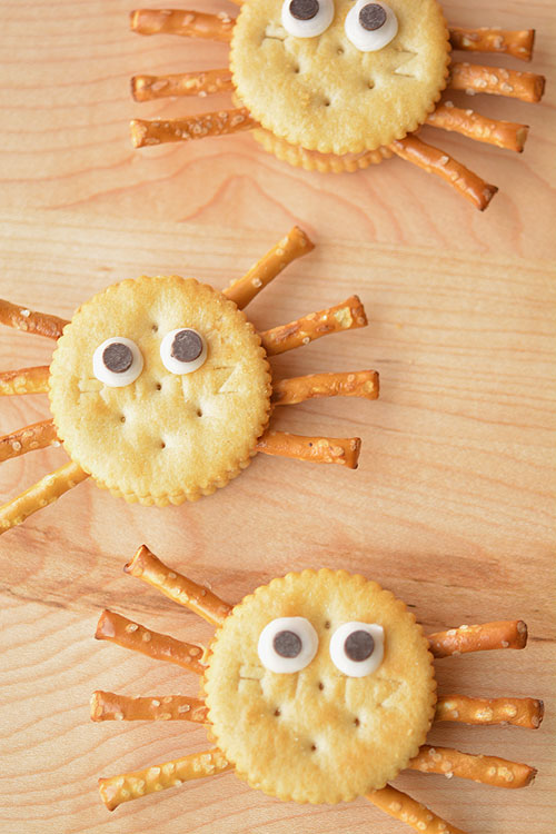cc ritz spider snacks