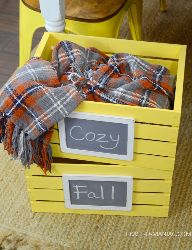 fall plaid kitchen decor19