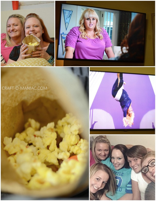 pitch perfect movie night collage