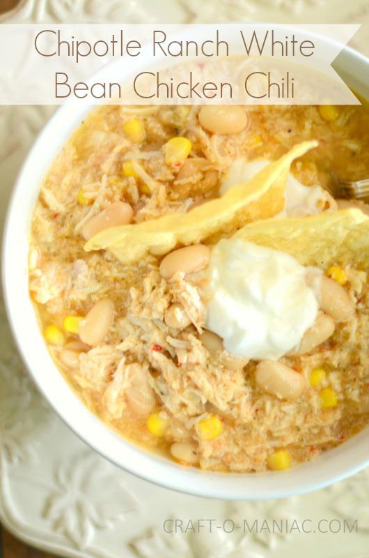 white bean chicken chili1text