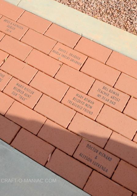 cdc name on brick pavers
