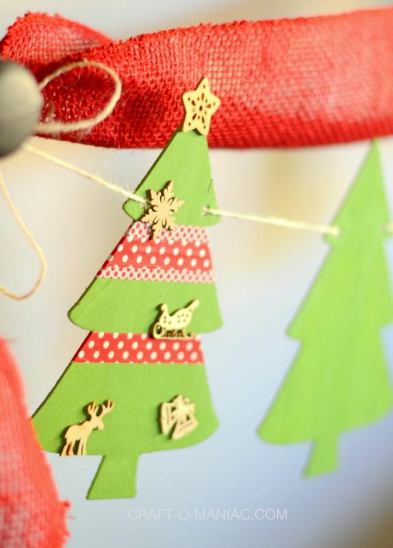christmas tree garland10