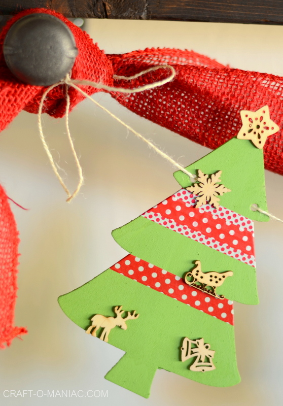 christmas tree garland12