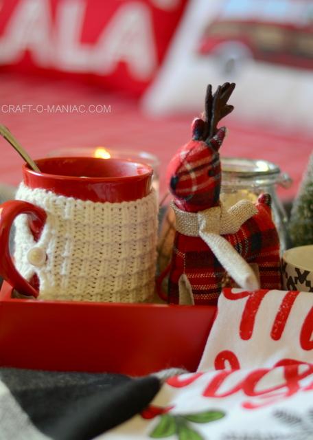 cozy plaid christmas bedding1