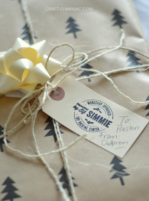 christmas gift wrap stamp1