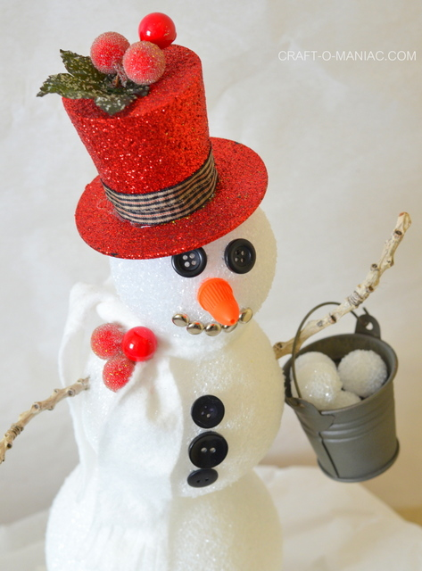 frosty the foam ball snowman1