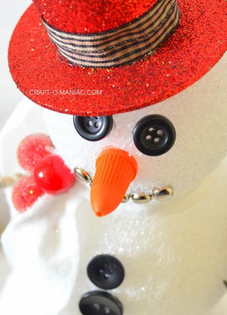 frosty the foam ball snowman3