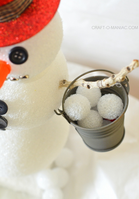 frosty the foam ball snowman5