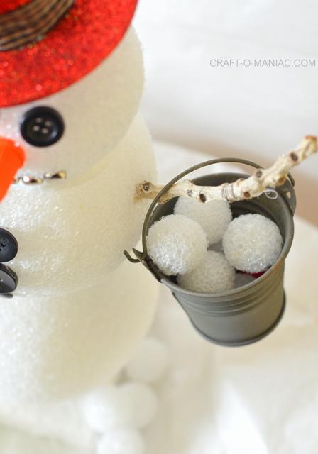 frosty the foam ball snowman5