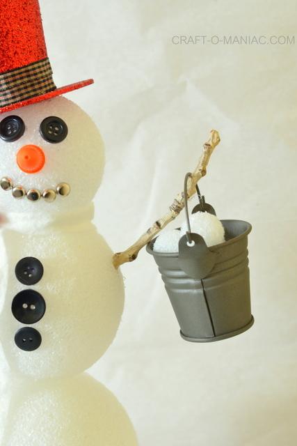 frosty the foam ball snowman7