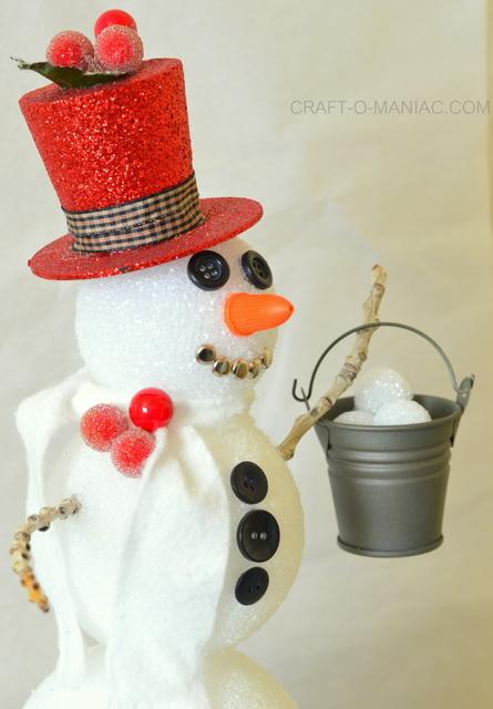 frosty the foam ball snowman8