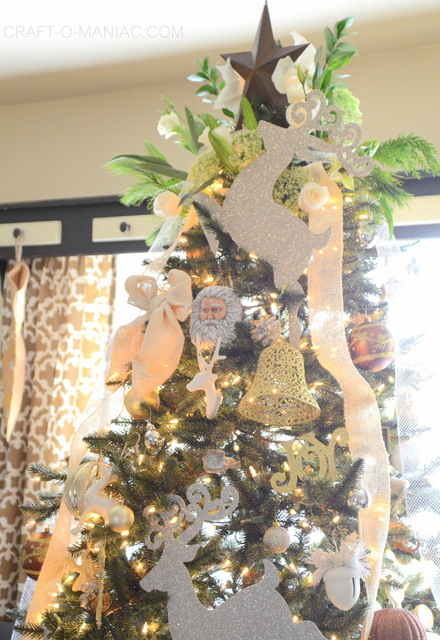 gold and cream christmas tree12