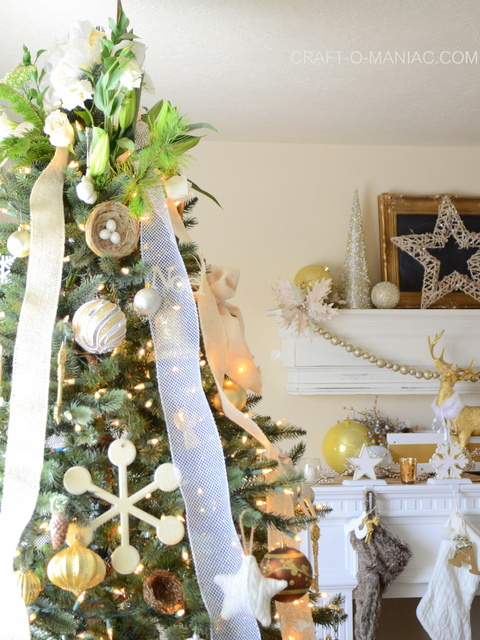 gold and cream christmas tree19
