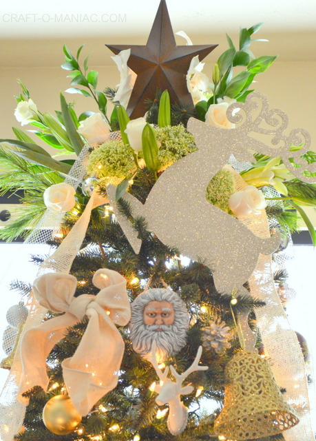 gold and cream christmas tree4