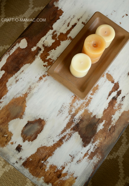 diy chalkpaint cowhide coffee table.1jpg