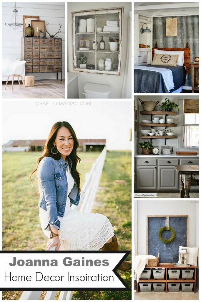 Joanna gaines home decor inspiration craft o maniac for Best home decor blogs 2016